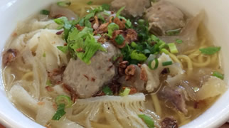 Mie kocok · How to taste in Weh Island · Aceh · Sumatra · Indonesia