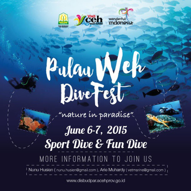 Pulau Weh Dive Fest · Monster divers · Gapang